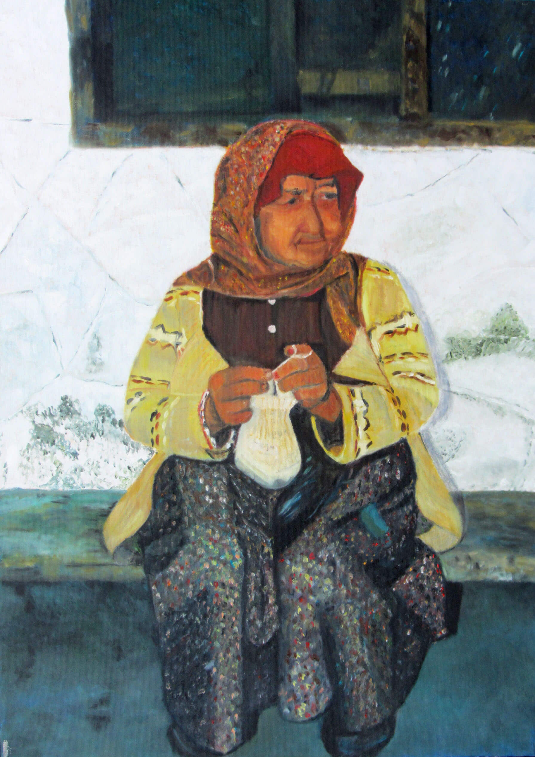 סדנאות ציור - חוג ציור ורישום בסטודיו של חגית שחל
