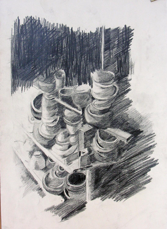 ללמוד לרשום - חוג ציור ורישום בסטודיו של חגית שחל