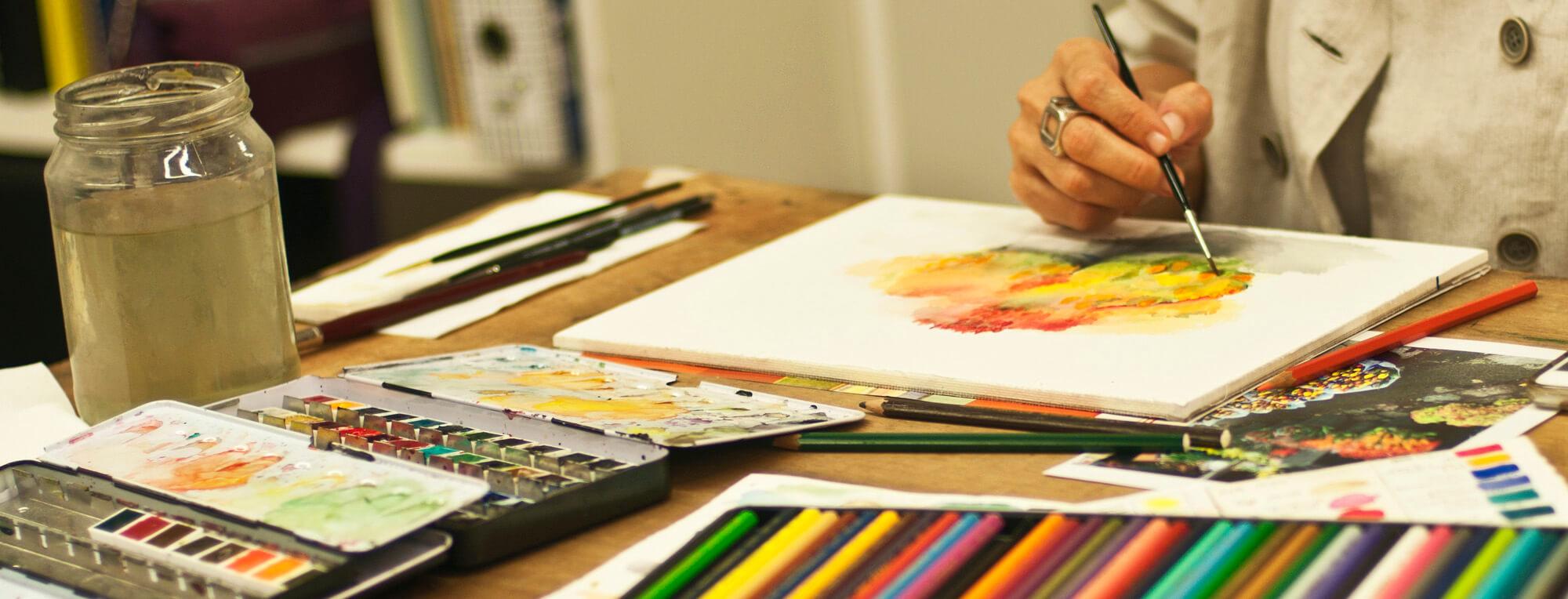 לימודי ציור- הסטודיו של חגית שחל
