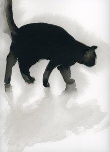 חתול שחור - חגית שחל 2019